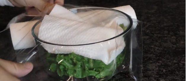 bảo quản rau không tủ lạnh