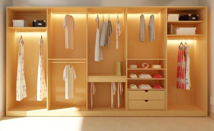 Cách khử mùi tủ quần áo