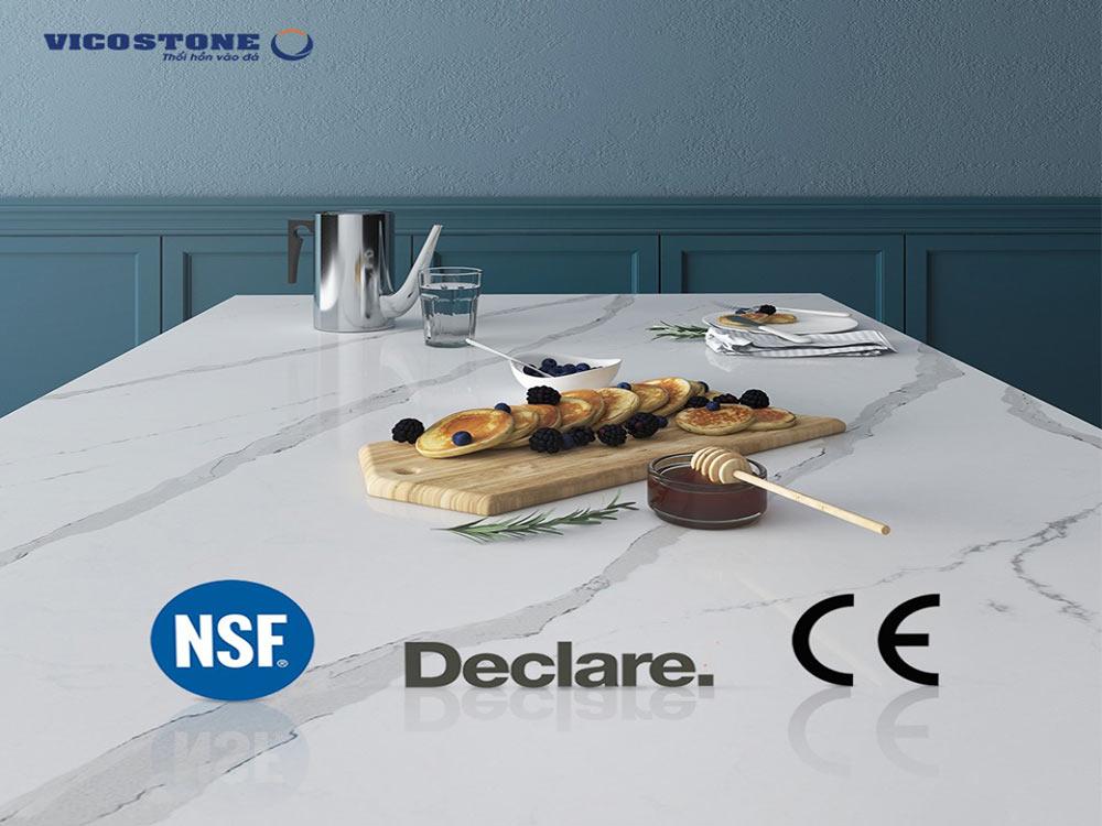 Sản phẩm đá VICOSTONE thân thiện với môi trường