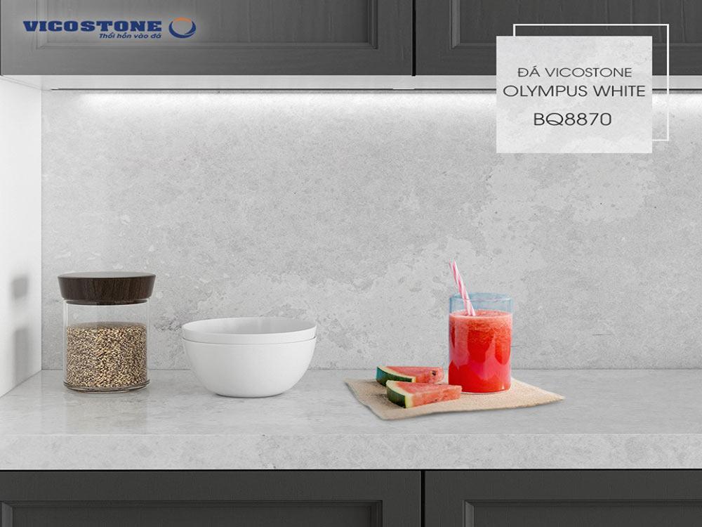 Chọn đá bàn bếp khả năng chống nước tốt